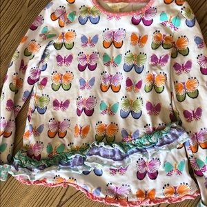 Matilda Jane size 6 butterfly top